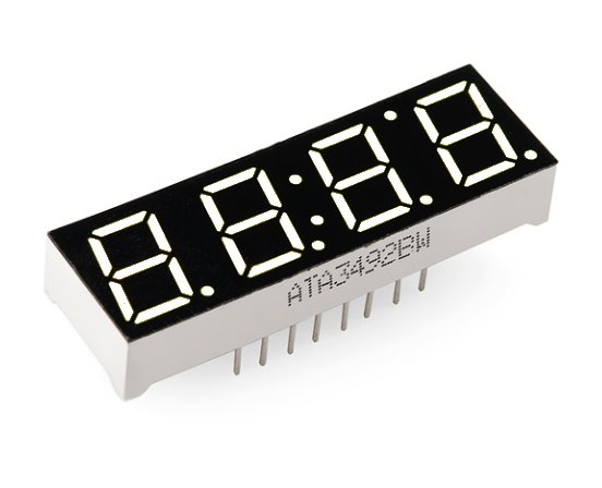 Small Clock Digit 0.4inch LED Display