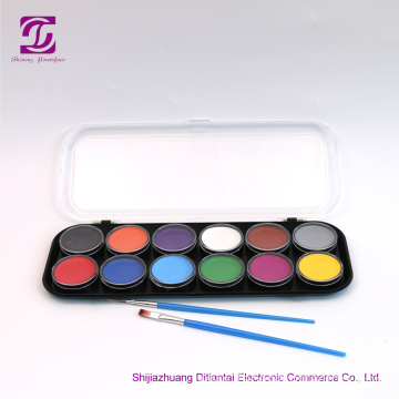 Smooth Coverage with Bright Colors Face Paint Kit