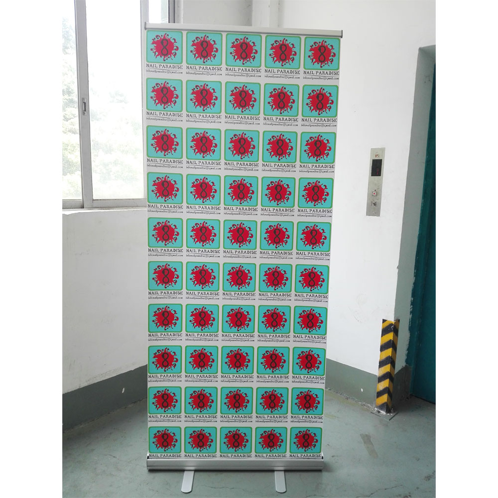 Outdoor Aluminum Alloy Roll Up Banner Stand