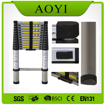 2 METERS ALUMINUM TELESCOPIC LADDER