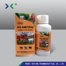 Personlized Products for Amitraz Solution Amitraz 12.5% Insecticide Cattle and Pet export to South Korea Factory
