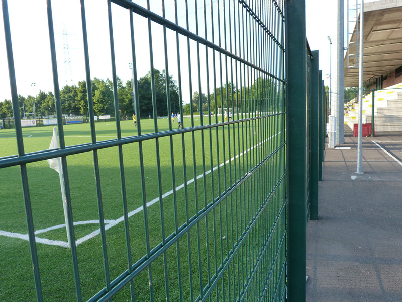 PVC Coated Hot Sale Weld Double Horizontal Fence
