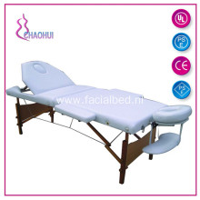 Wood Massage Table 2 Section Health