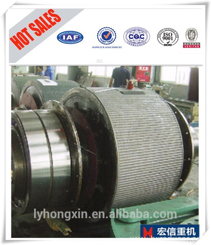 feeding materials system of winch hoist