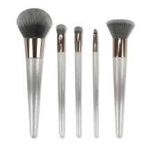 Soft Synthetic Hair Sliver Handle Makeup Brushes