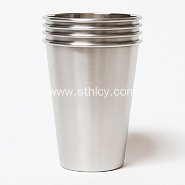 Stainless Steel Shatterproof Pint Glass Metal Beer Cup
