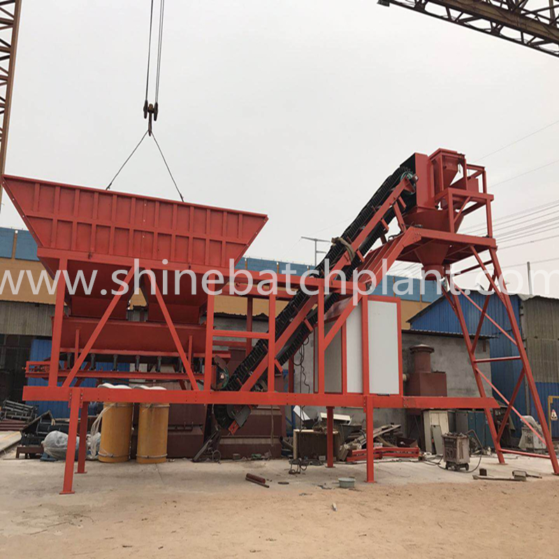 35 Portable Concrete Mixing Plants