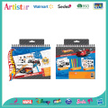 HOT WHEELS activity coloring set