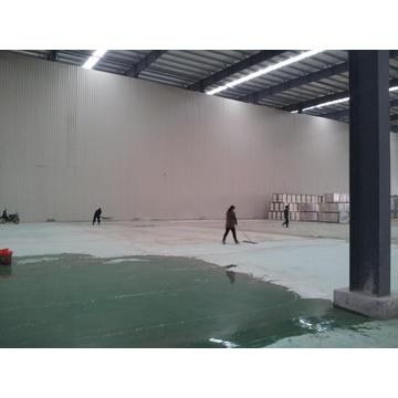 Solvent-free epoxy self-leveling coating