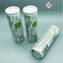 Custom paper tube box/apparel packaging tube