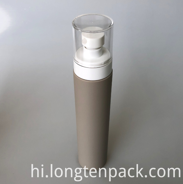 LTP8018 HDPE bottle with lotion pump