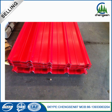 Color Corrugated Steel Sheet Roofing