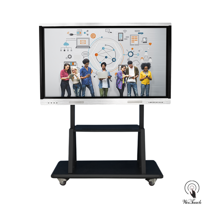 65 inches smart whiteboard with mobile stand