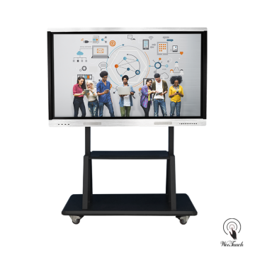 Weetaach 65 Inches Smart Whiteboard With Mobile Stand