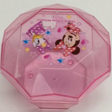 Plastic portable Disney jewelry storage box