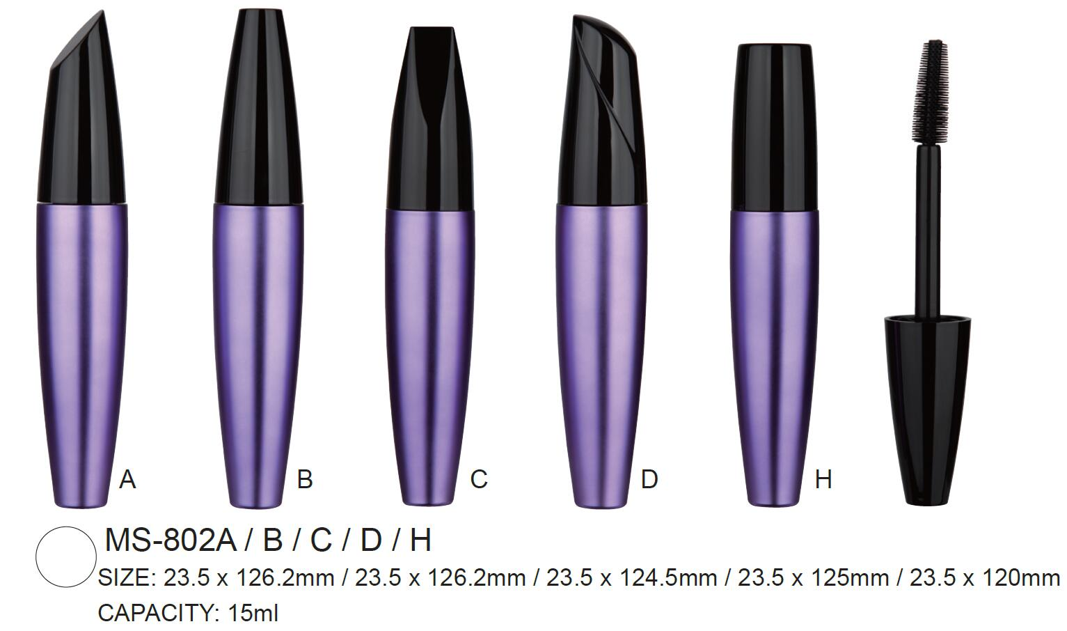Mascara packaging