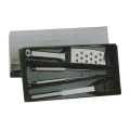 3pcs stainless steel BBQ set