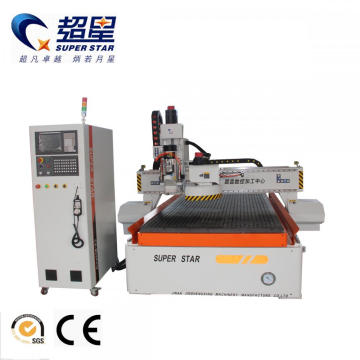 High Efficiency ATC woodworking cnc router