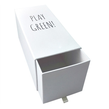 Small MOQ Fancy Printing Fashion Drawer Paper Box