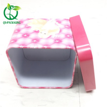 Good Quality for Tin Box, Tin Box For Candy, Tin Box For Cosmetic from China Supplier Cheap square tins wholesale export to Spain Exporter