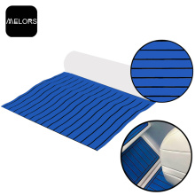 Blue & Black Marine Boat Yacht EVA Foam Synthetic Teak Sheet
