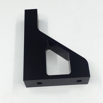 Machining Black Anodized Aluminum Front Support