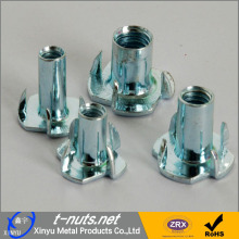 China for Stamped Parts Four Pronged Insert T Nuts export to Australia Manufacturer