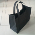 Large black non-woven bag