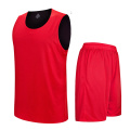 Double-layer reversible basketballl uniform