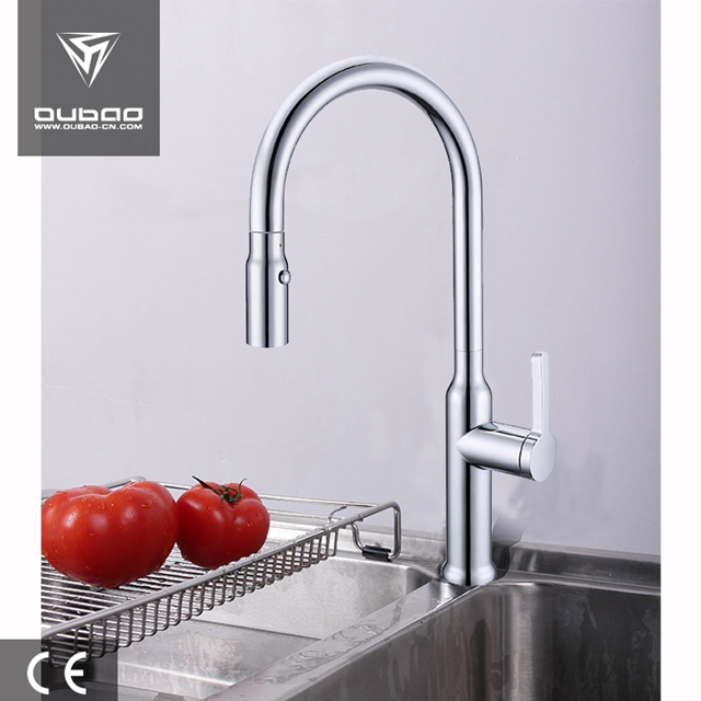 Commercial Kitchen Mixer Faucet Ob D03