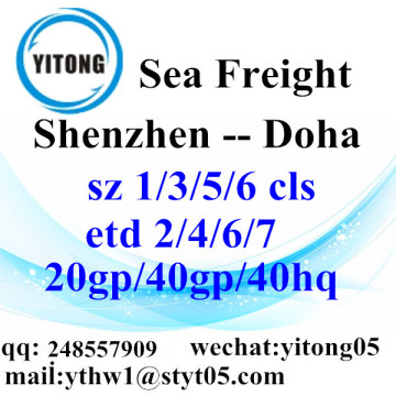 Shenzhen Sea Freight Logistics Agent to Doha