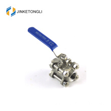 made in China 3PC 4 Inch Stainless Steel Ball Valve