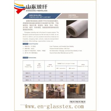 Economic fiberglass floor mat