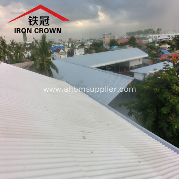 Eco-Friendly Heat-Resistant Fireproof MgO Glazed Roof Sheets