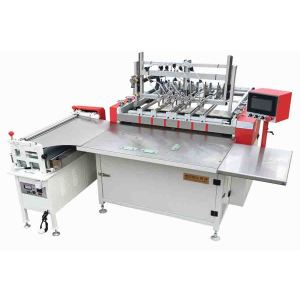 Semi-auto book case/hardcover making machine