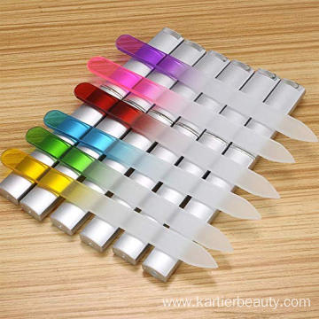 China for Manicure Pedicure Kit Glass Nail File Manicure Nail Care export to South Korea Factory