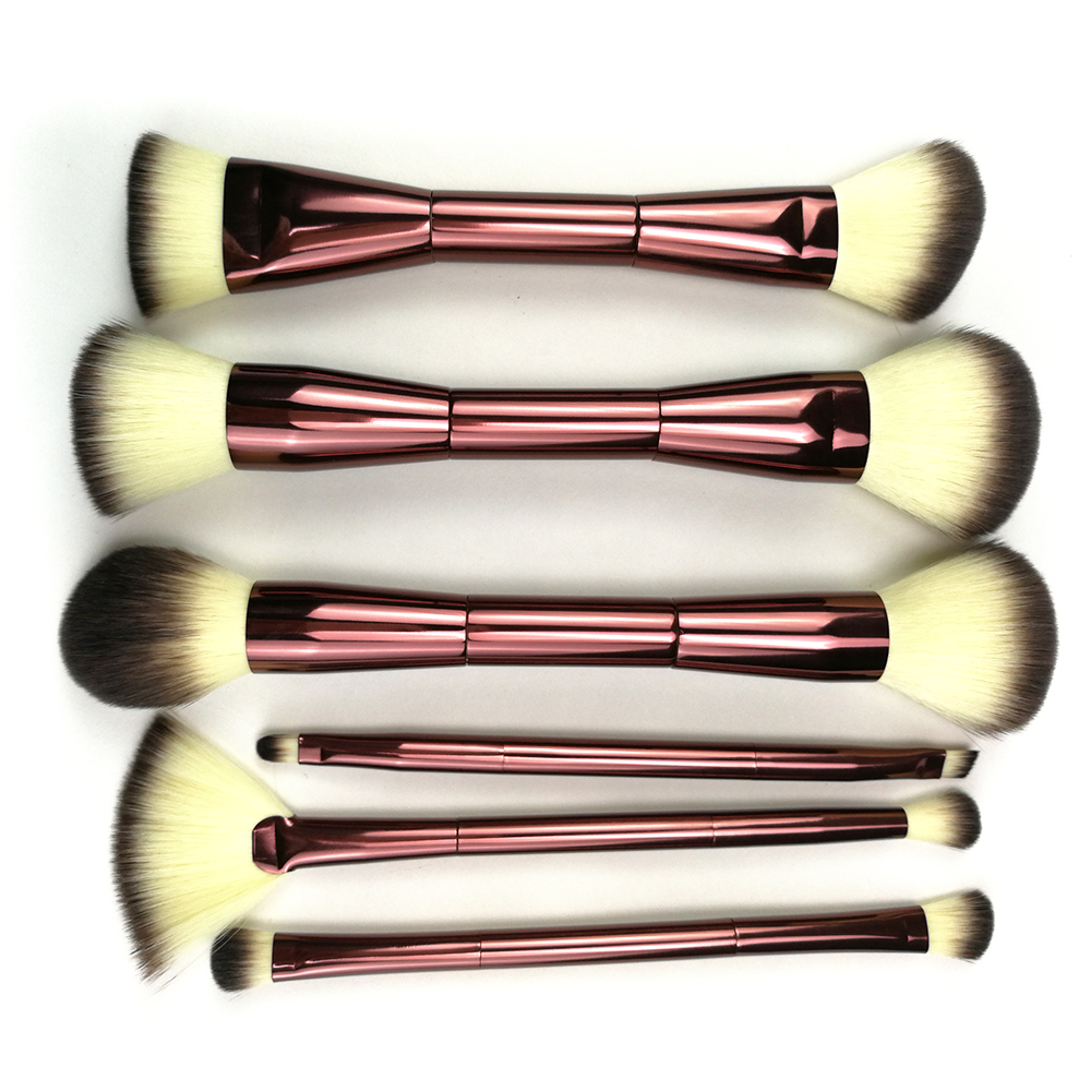 Double Ended Makeup Brushes