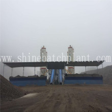 Supplier for Concrete Batch Mixer 60 Fixed Concrete Mix Machine supply to Tuvalu Factory