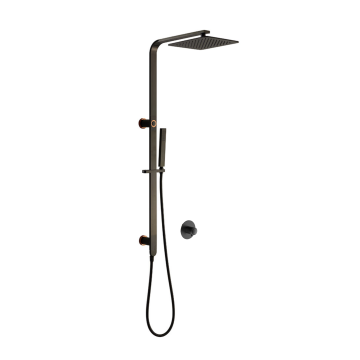 10'' Stainless Steel Rain Shower Set