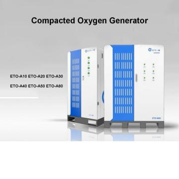 compacted oxygen generator for small hospital
