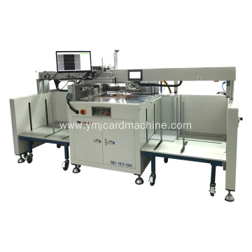 Super Lowest Price for China Collating Machine,Sheet Collating,Laminating Machine Exporters Smart Card Full Auto Cutting Trimming Machine supply to Congo Wholesale