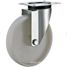 200mm  industrial rubber  swivel   casters without  brakes