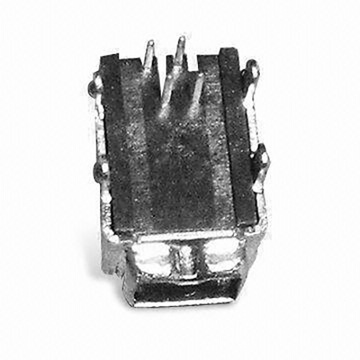 1394 4P Receptacle Angle DIP Type(4 Legs)