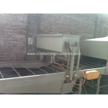 stone-coated metal roof tile making machine