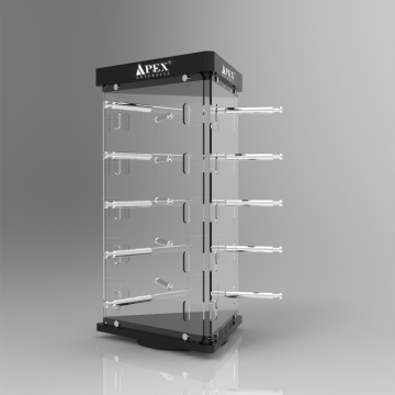 Acrylic Optical Sunglasses Display Cases Stands