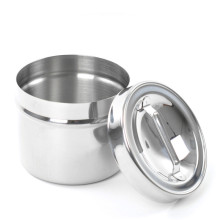 Stainless steel medical dressing jar with knob Mould