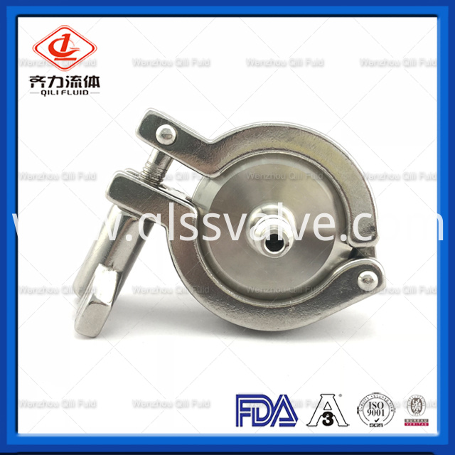 Sanitary Stainless Steel Air Blow Check Valve 3
