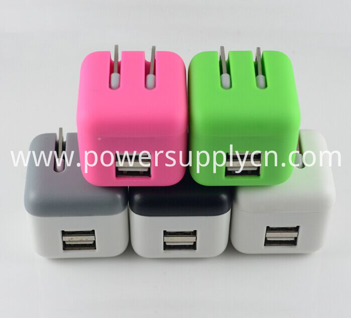 Super Mini Foldable Dual USB Travel Charger