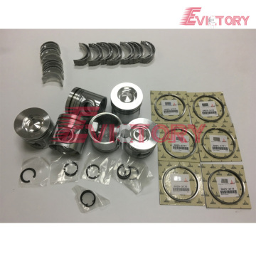 VOLVO D7E rebuild overhaul kit gasket bearing piston