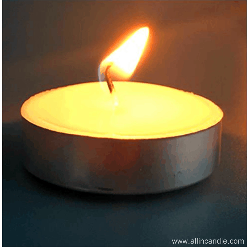 Tealight Candle Plastic Bag 50pcs/box 9hrs burning time